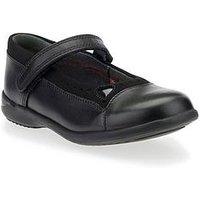 Start-rite Start-Rite Emilia Younger Girls Strap Shoe, Black, Size 13.5 Younger