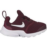 Nike Presto Fly Infant Trainers, Maroon/White, Size 9