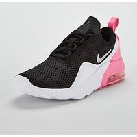 Nike Air Max Motion 2 Junior Trainers, Black/Pink, Size 3
