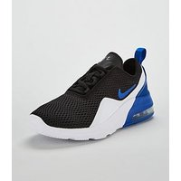 Nike Air Max Motion 2 Junior Trainers, Black/Blue, Size 5.5