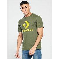 Converse Star Chevron T-shirt, Green, Size Xl, Men
