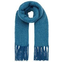 Accessorize Super Fluffy Scarf, Teal, Women