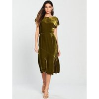 Whistles Whistles Mina Velvet Dress