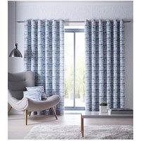 Studio G Tenby Eyelet Curtains - Indigo