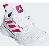 adidas Altarun Cf Junior Trainers, White/Pink, Size 5.5