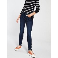 Levi's 711™ Skinny Jeans - Blue, Role Model, Size 27, Inside Leg 32, Women