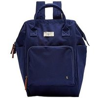 Joules Navy Frame Top Backpack, Navy, Women