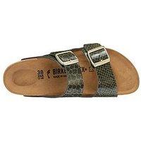 Birkenstock Arizona Two Strap Narrow Fit Sandals - Khaki, Khaki, Size 7, Women