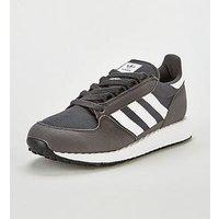 adidas Originals Adidas Originals Forest Grove Junior Trainers, Dark Grey, Size 5