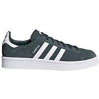 adidas Originals Campus Junior - Grey , Grey, Size 4