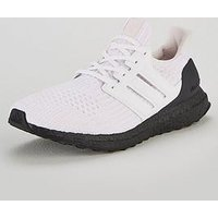 adidas Ultraboost Trainers - White/Black, White/Black/Pink, Size 4, Men
