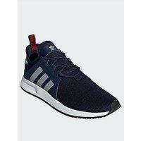 adidas Originals X_PLR Trainers - Navy, Navy, Size 8, Men