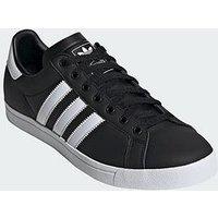 adidas Originals Court Star - Black/White, Black/White, Size 7, Men