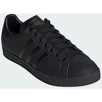 adidas Originals Court Star, Black/Black, Size 10, Men