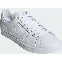 adidas Originals Court Star - White/White, White/White, Size 7, Men