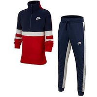 Nike Boys Air Tracksuit  - Red/White/Blue , Red, Size Xs=6-8 Years