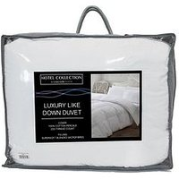 Product photograph showing Ideal Home Luxury Like Down 100 Cotton Cover 4 5 Tog Duvet