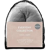 Product photograph showing Everyday Collection Teddy Fleece V Shaped Pillow