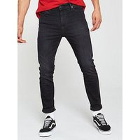 Tommy Jeans Simon Skinny Fit Jean, Mid Wash, Size 36, Length Long, Men