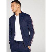 Tommy Jeans Track Jacket, Navy, Size 2Xl, Men