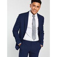 Tommy Hilfiger Mik Slim Fit Suit Jacket, Dark Blue, Size 46, Men