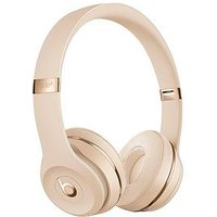 Beats By Dr Dre Solo 3 Wireless Headphones - The Beats Icon Collection, Satin Gold