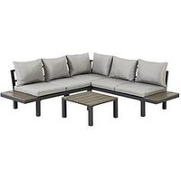 Product photograph showing Rio Low Level Corner Sofa Set