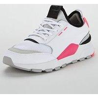 Puma RS-0 - Pink/White , White/Pink/Black, Size 7, Women