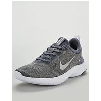 Nike Flex Experience RN 8 - Grey/White , Grey/White, Size 4, Women