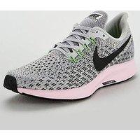 Nike Air Zoom Pegasus 35 - Grey/Pink , Grey/Pink, Size 8, Women