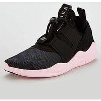 Nike Free Rn Cmtr 2018, Black/Pink, Size 4, Women