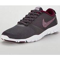 Nike Flex Essential TR - Dark Grey/Pink , Dark Grey/Pink, Size 8, Women