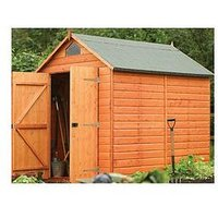 Product photograph showing Rowlinson Security Shed 8x6 Ft