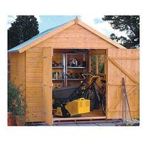 Product photograph showing Rowlinson Rowlinson 10 X 8 Ft Premier Shed