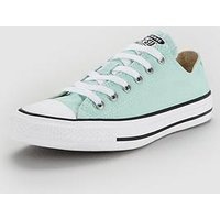 Converse Chuck Taylor All Star Ox - Mint/White , Mint/White, Size 10, Women