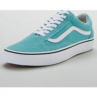 Vans Ua Old Skool, Light Blue/White, Size 6, Men