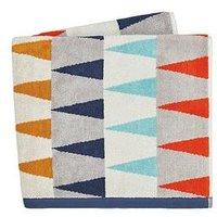 Harlequin Azul Woven Jacquard Towel Collection