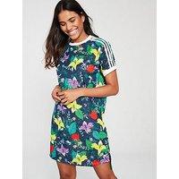 adidas Originals Blossom Of Life Dress, Multi, Size 10, Women