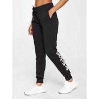 adidas Essentials Linear Pant - Black , Black, Size Xs, Women