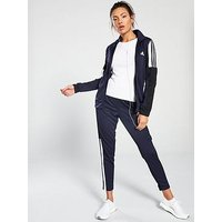 adidas Panelled Team Sports Tracksuit - Navy , Navy, Size L, Women