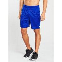 UNDER ARMOUR Challenger II Knit Shorts, Blue, Size L, Men