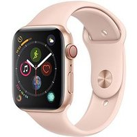 Apple Watch Series 4 (Gps + Cellular), 44Mm Gold Aluminium Case With Pink Sand Sport Band