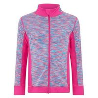 Monsoon Melissa Zip Top, Bright Pink, Size Age: 11-12 Years, Women