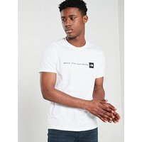 THE NORTH FACE Short Sleeve Never Stop Exploring T-Shirt - White, White, Size 2Xl, Men