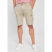 Lyle & Scott Cargo Short, Stone, Size L, Men