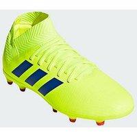 adidas Adidas Junior Nemeziz 18.3 Firm Ground Football Boot, Solar Yellow, Size 1