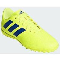 adidas Adidas Junior Nemeziz 18.4 Astro Turf Football Boot, Solar Yellow, Size 3