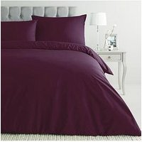Everyday Collection Non-Iron 180 Thread Count Duvet Cover Set