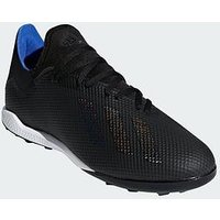 adidas Adidas Mens X 18.3 Astro Turf Football Boot, Black, Size 11, Men