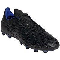 adidas Adidas Mens X 18.4 Firm Ground Football Boot, Black, Size 9.5, Men